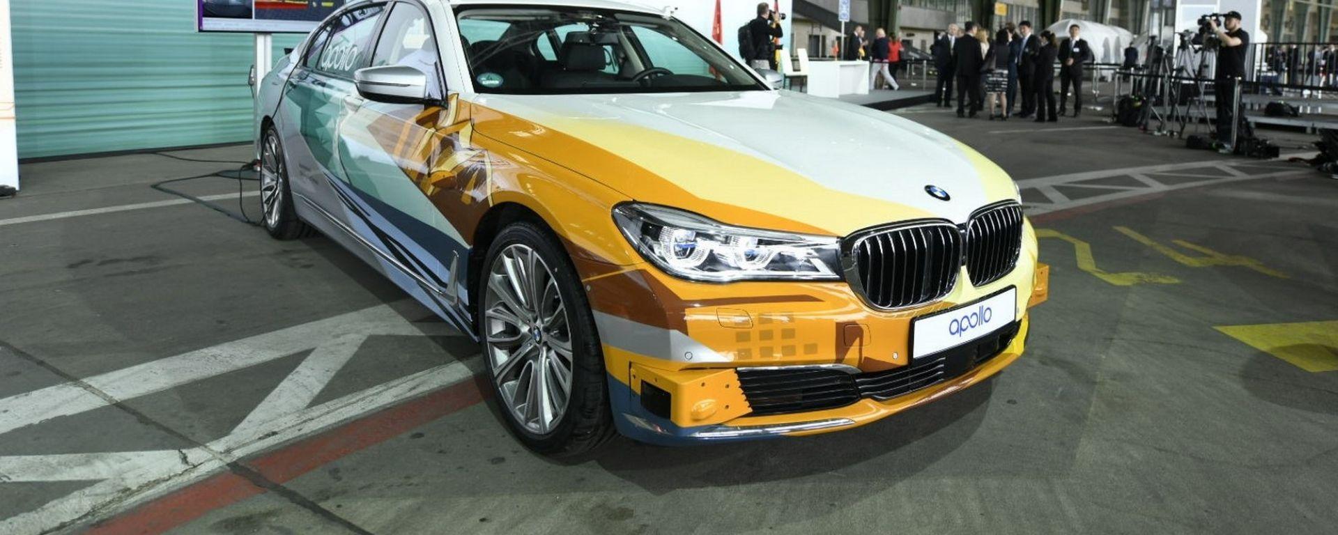 BMW, Apollo 2.0 la piattaforma per la guida autonoma