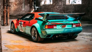 BMW Art Car: la M1 Group 4 firmata da Andy Warhol