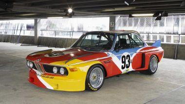 BMW Art Car: la prima BMW 3.0 CSL di Alexander Calder