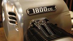 BMW boxer 1.800: u'immagine da vicino del grande propulsore tedesco