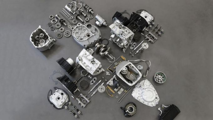 BMW Boxer 1.800: un esploso del motore tedesco