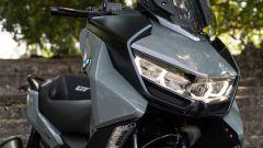 BMW C 400 GT 2019: dettaglio del frontale