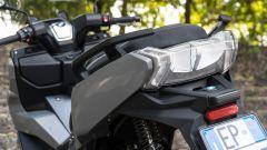 BMW C 400 GT 2019: le maniglie del passeggero