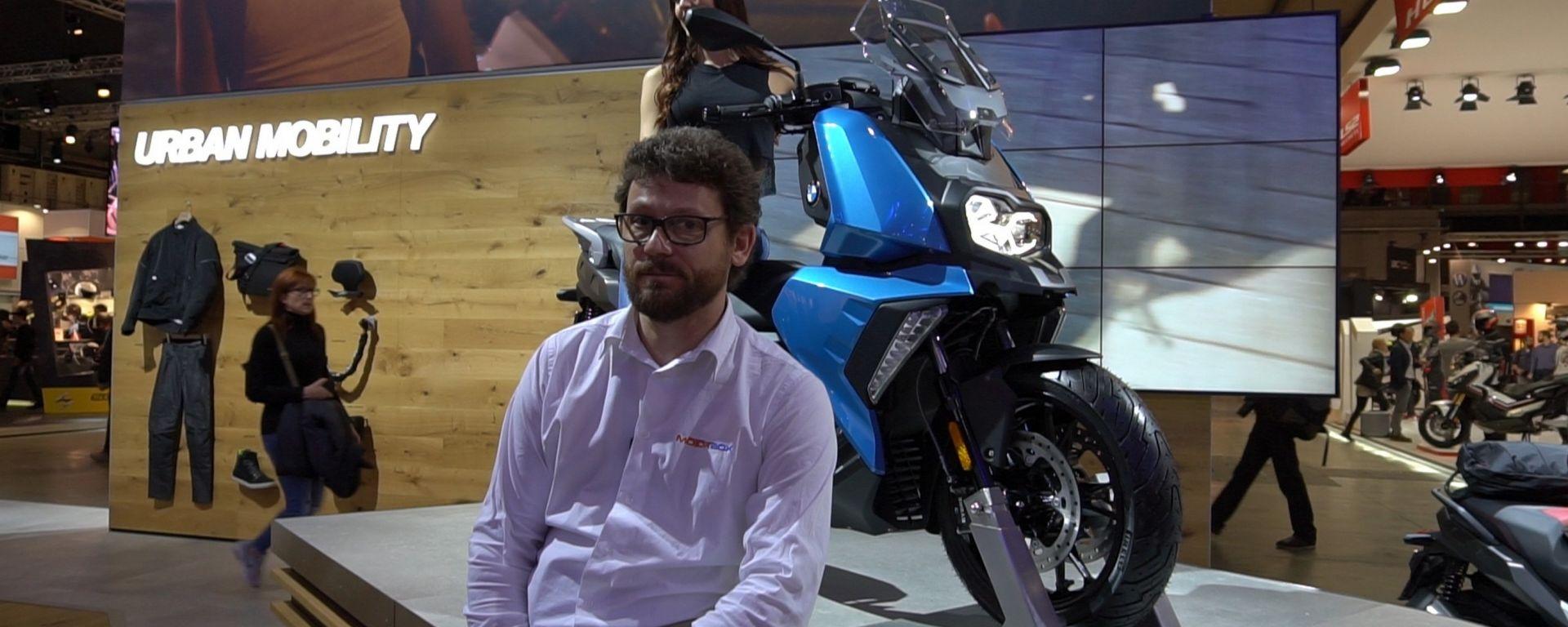 BMW C 400 X: il nuovo scooter medio a EICMA 2017 [VIDEO]