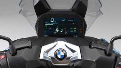 BMW C 400 X: il quadro strumenti