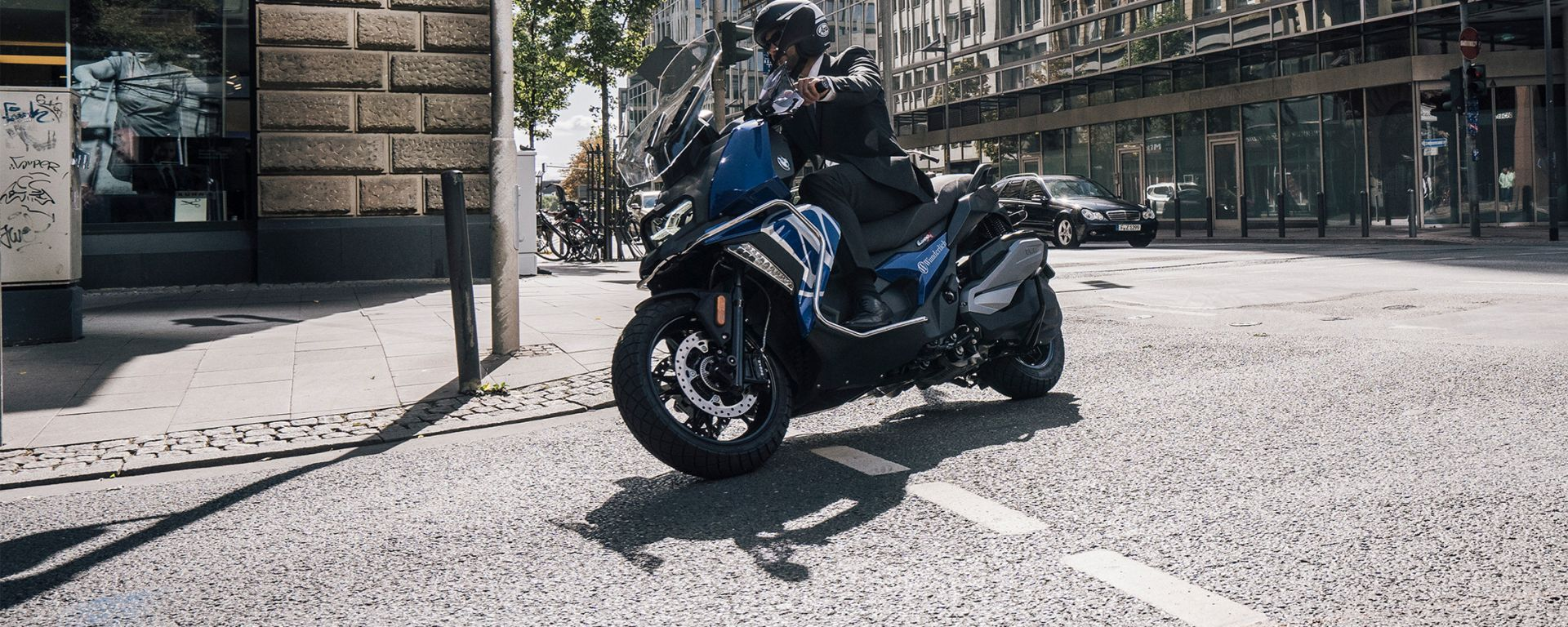 BMW C 400 X: lo scooter è l'ultimo a beneficiare del sistema Wunderlich Vario