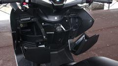 BMW C 650 GT 2016, vani portaoggetti