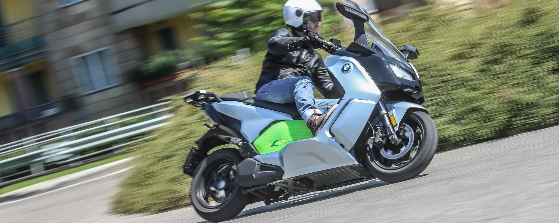 BMW C Evolution Long Range: il test ride