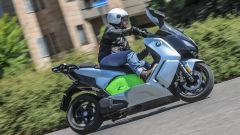 BMW C Evolution Long Range: vista 3/4 anteriore