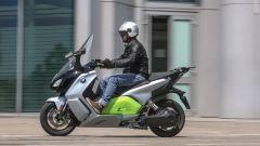 BMW C Evolution Long Range: vista laterale
