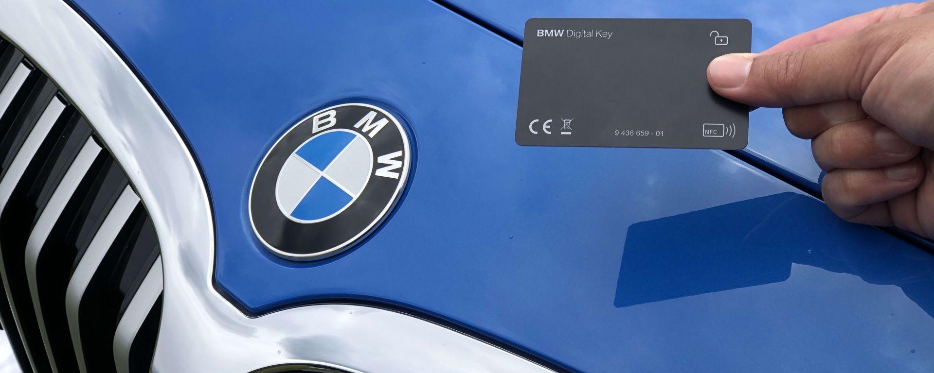 BMW, con il nuovo aggiornamento arriva anche la chiave digitale