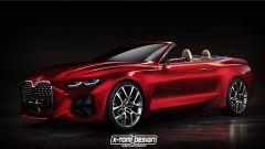 Bmw Concept 4 cabriolet: il rendering