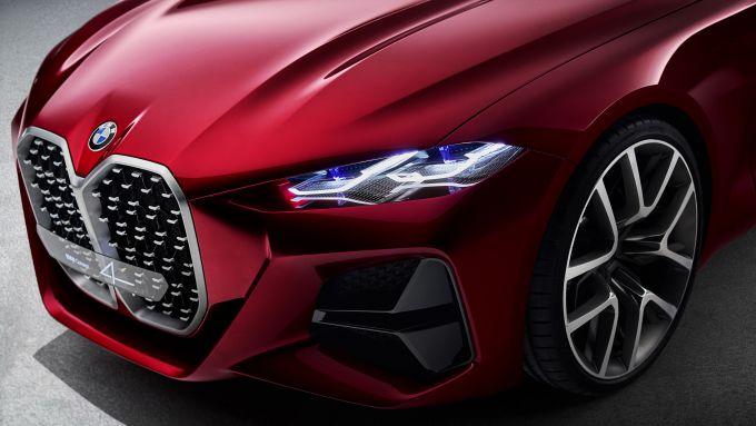 BMW Concept 4: dettaglio del frontale