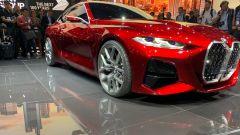 BMW Concept 4: la futura BMW Serie 4 al salone di Francoforte IAA 2019