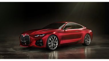BMW Concept 4: le linee del prototipo originale