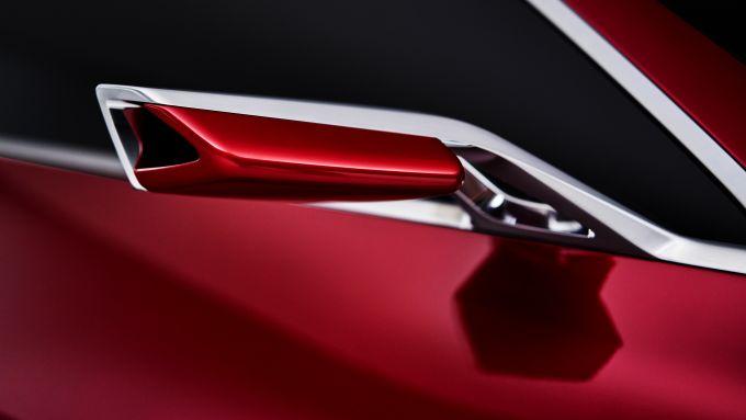 BMW Concept 4: lo specchio retrovisore