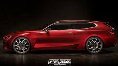 Bmw Concept 4 wagon e cabrio: i render by X-Tomi Design