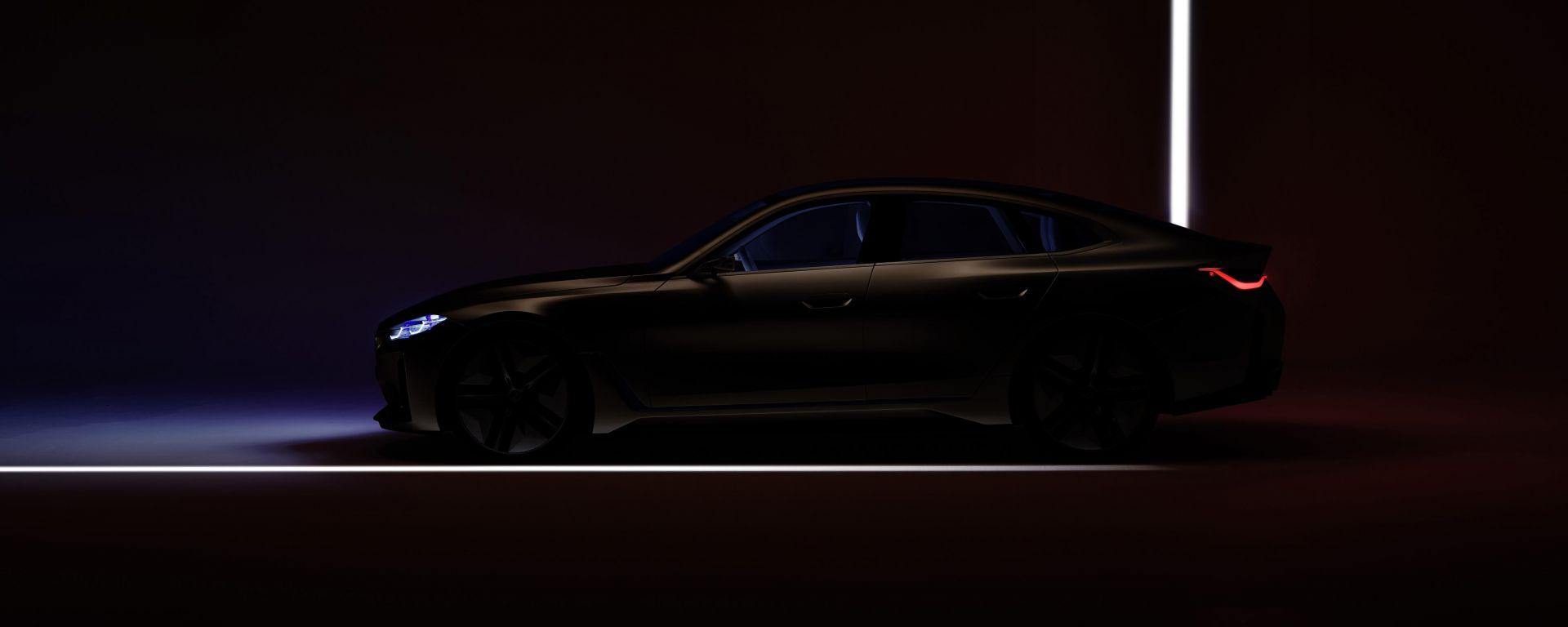 BMW concept i4 al Salone di Ginevra (in streaming)