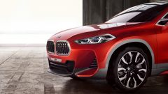 BMW Concept X2: dettaglio anteriore