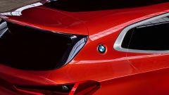 BMW Concept X2: dettaglio coda dall'alto