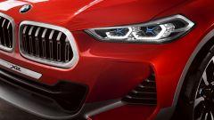 BMW Concept X2: dettaglio faro