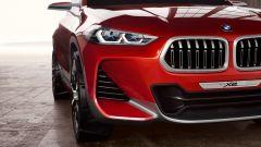 BMW Concept X2: dettaglio presa d'aria frontale