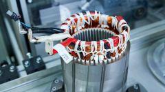 BMW: costruzione di un motore elettrico