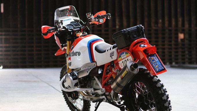 BMW Dakar GS: la special di Roland Sands
