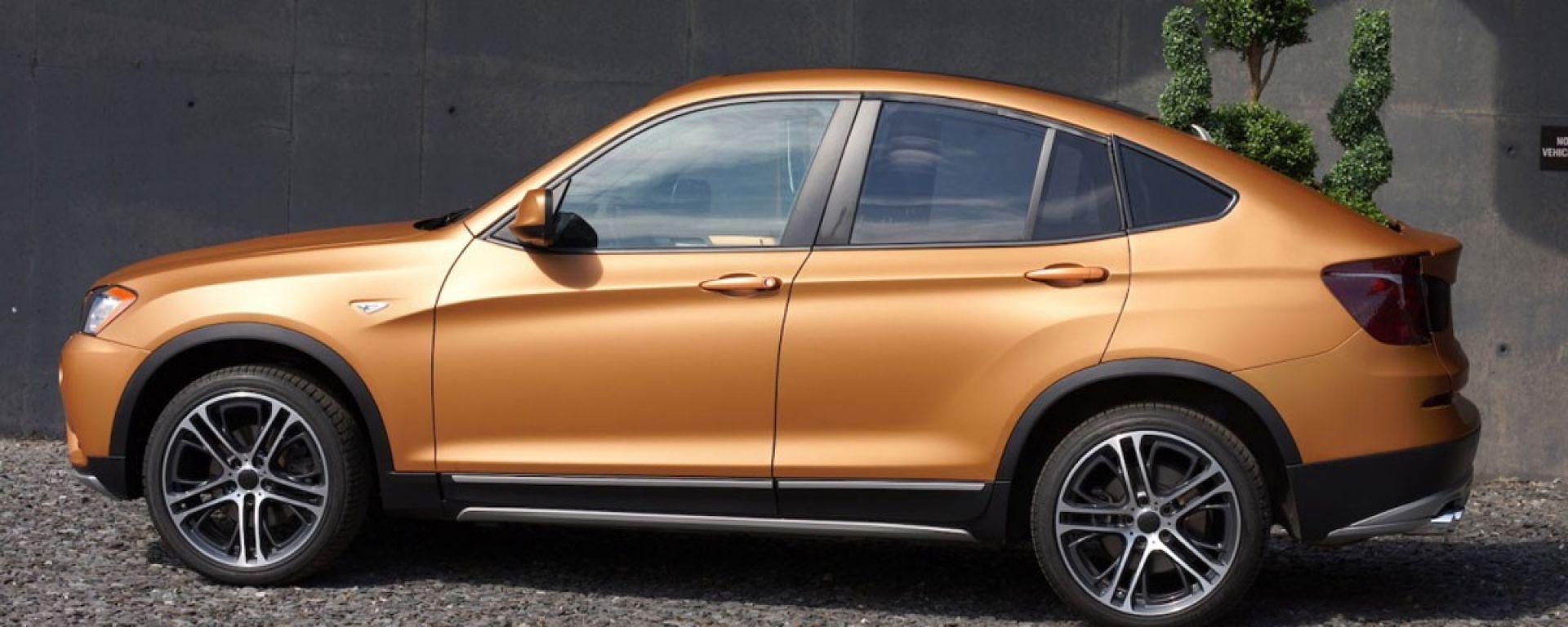 BMW Deep Orange 4