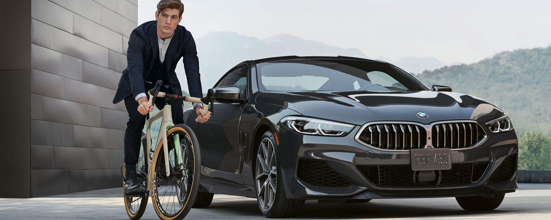 BMW e 3T insieme per una bici esclusiva