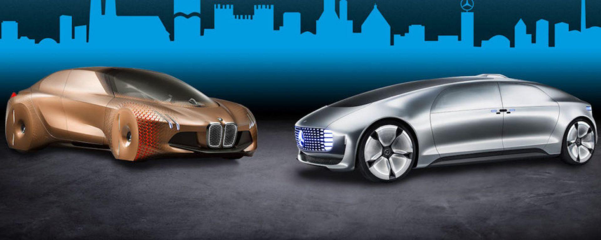 BMW e Daimler si uniscono per lavorare sulla guida autonoma