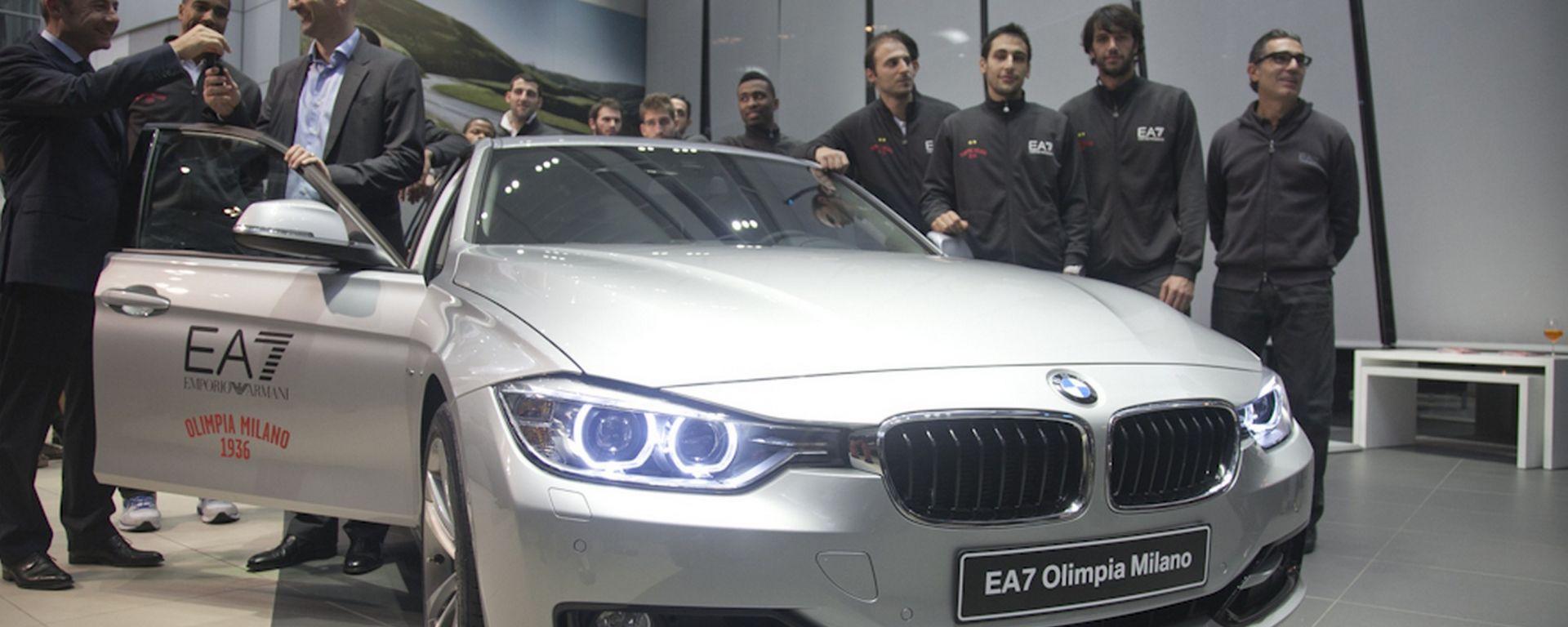 BMW e EA7 Milano: le Scarpette Rosse mettono il turbo