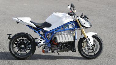 BMW E-Power Roadster Concept: vista laterale