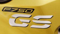 BMW F 750 GS: dettaglio del lettering