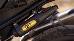 BMW F 750 GS: dettaglio della sospensione posteriore a controllo elettronico (opzionale)