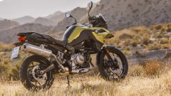 BMW F 750 GS: vista 3/4 posteriore