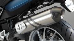 BMW F 800 GT 2017, scarico