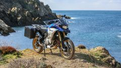 BMW F 850 GS Adventure 2019: le borse rigide sono optional