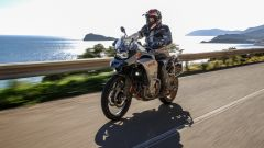 BMW F 850 GS Adventure 2019: una foto dal test su strada