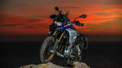 BMW F 850 GS Adventure 2019: vista anteriore