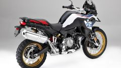 BMW F 850 GS: vista 3/4 posteriore