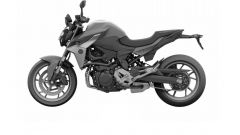 BMW F 850 R: render laterale