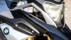 BMW G 310 GS: dettaglio del frontale