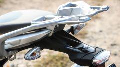 BMW G 310 GS: il portapacchi