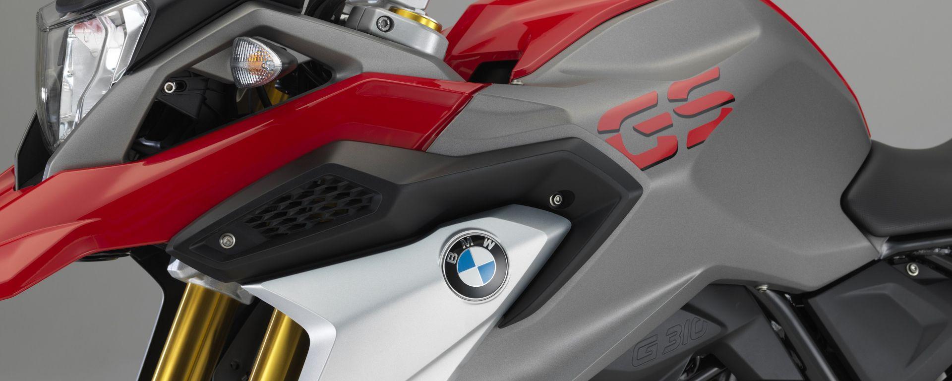 BMW G 310 GS, serbatoio