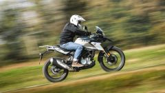 BMW G 310 GS: vista laterale
