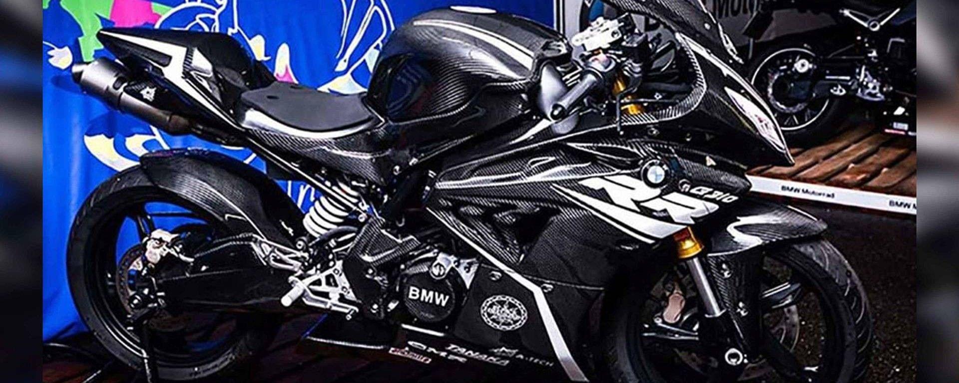 BMW G 310 RR: il prototipo in carbonio debutta in Giappone