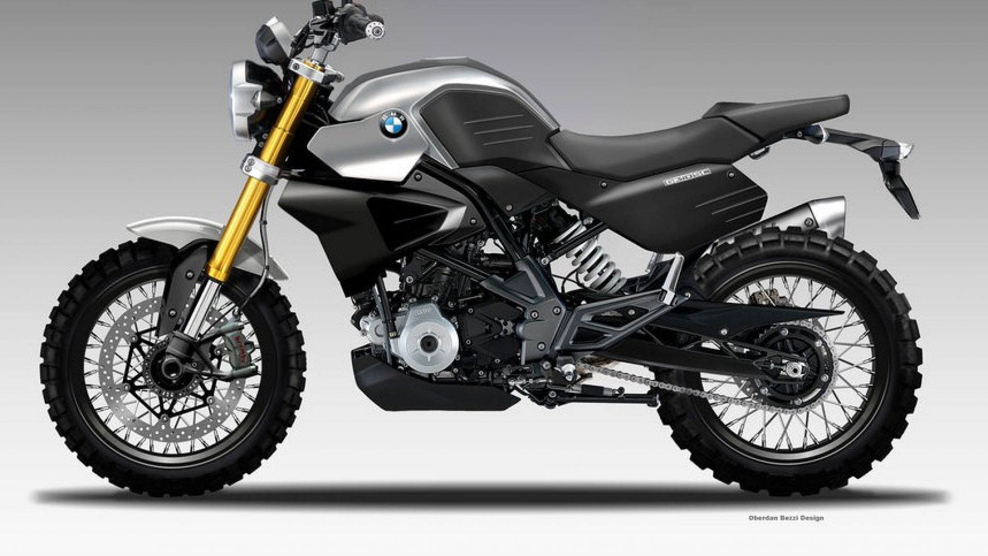 rendering bmw g310 sc scrambler by oberdan bezzi motorbox. Black Bedroom Furniture Sets. Home Design Ideas