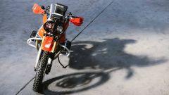 BMW GS Dakar: il frontale della R 1200 GS del 2008 modificata da Roland Sands