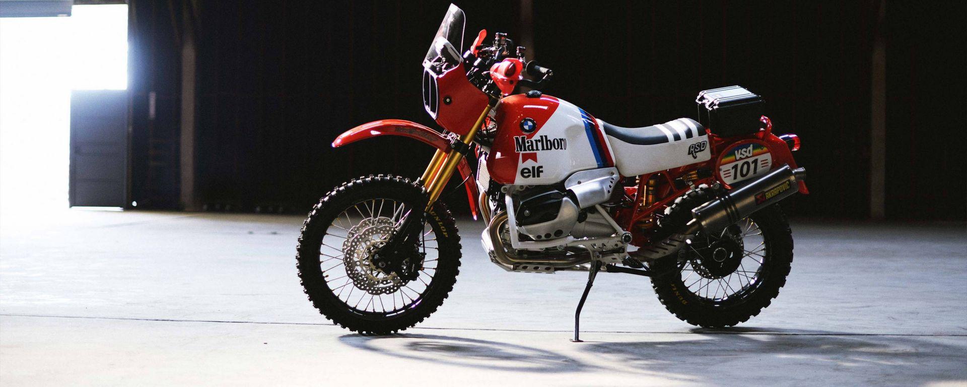 BMW GS Dakar: la R 1200 GS del 2008 modificata da Roland Sands